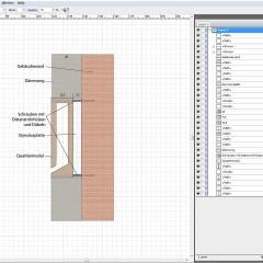 Planung zur Integration von Fledermausquartieren in Gebäudefassaden