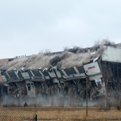 ökologische Baubegleitung beim Abbruch großtechnischer Bauwerke